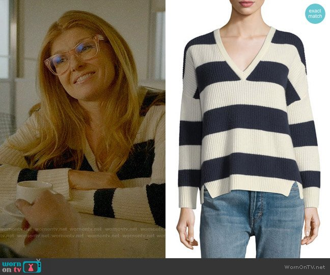 Kule Addison Sweater worn by Abby Clark (Connie Britton) on 9-1-1