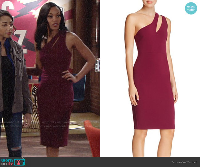 Likely Allison Dress worn by Mishael Morgan on The Young & the Restless