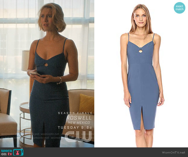 Likely Denlan Dress worn by Petra Solano (Yael Grobglas) on Jane the Virgin