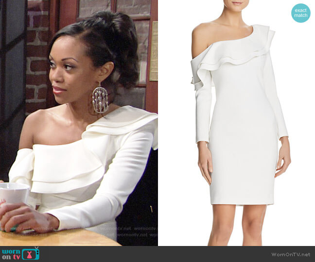 Likely Georgina Dress worn by Mishael Morgan on The Young & the Restless