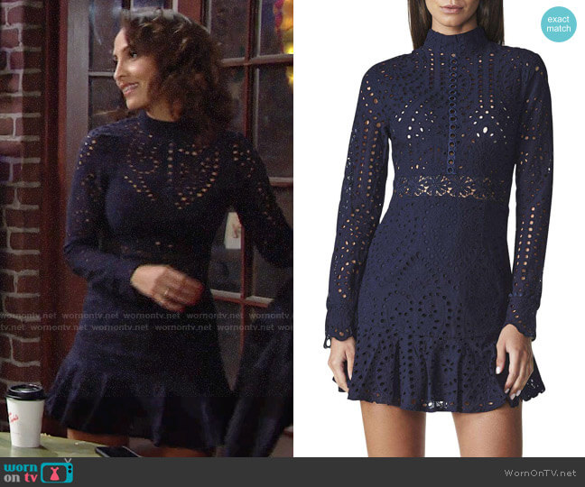 Lioness Spring Fling Dress worn by Lily Winters (Christel Khalil) on The Young & the Restless