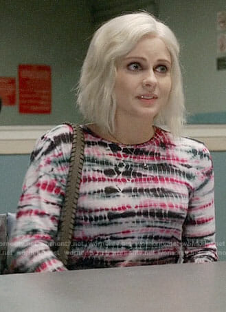 Liv's pink tie-dye top on iZombie
