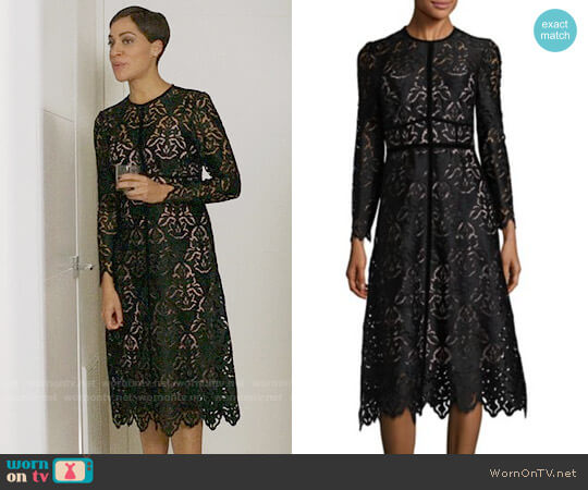 LK Bennett Elouise Dress worn by Lucca Quinn (Cush Jumbo) on The Good Fight