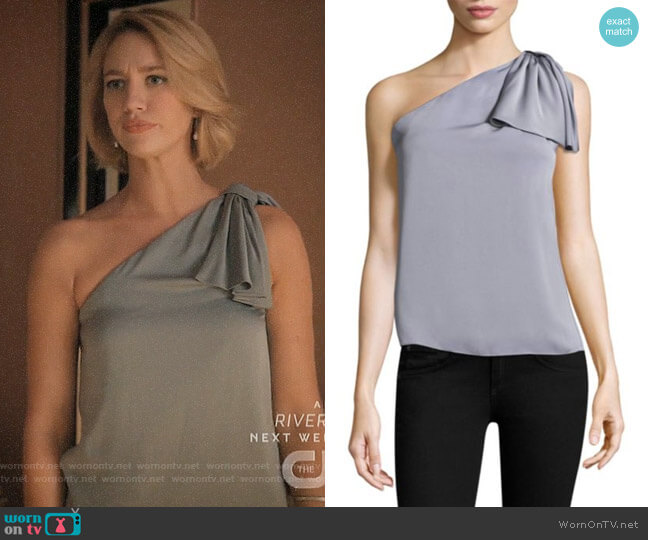 Milly Cindy Top worn by Petra Solano (Yael Grobglas) on Jane the Virgin