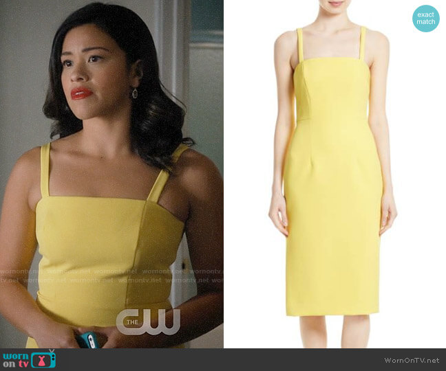 Milly Elle Dress worn by Gina Rodriguez on Jane the Virgin