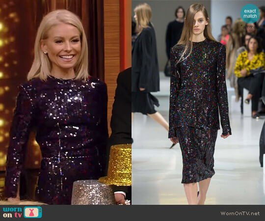 by Nina Ricci - Fall 2015 Collection worn by Kelly Ripa on Live with Kelly & Ryan