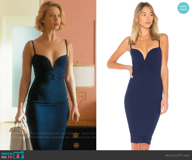 Nookie Mariah Dress worn by Petra Solano (Yael Grobglas) on Jane the Virgin
