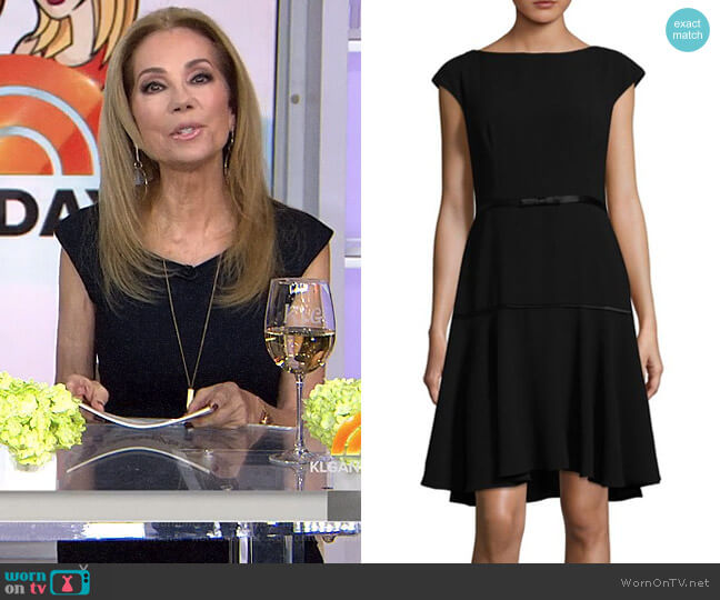 Crepe Fit-&-Flare Dress by Nue by Shani worn by Kathie Lee Gifford  on Today