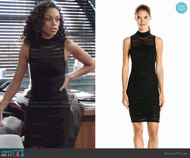 Parker Gemma Dress worn by Hilary Curtis (Mishael Morgan) on The Young & the Restless