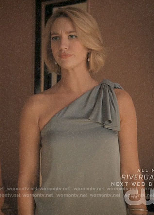 Petra's grey one-shoulder top one Jane the Virgin on Jane the Virgin