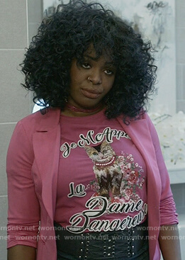 Porsha's la dame dangereuse t-shirt on Empire