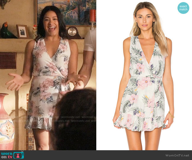 Privacy Please Ryan Dress worn by Jane Villanueva (Gina Rodriguez) on Jane the Virgin
