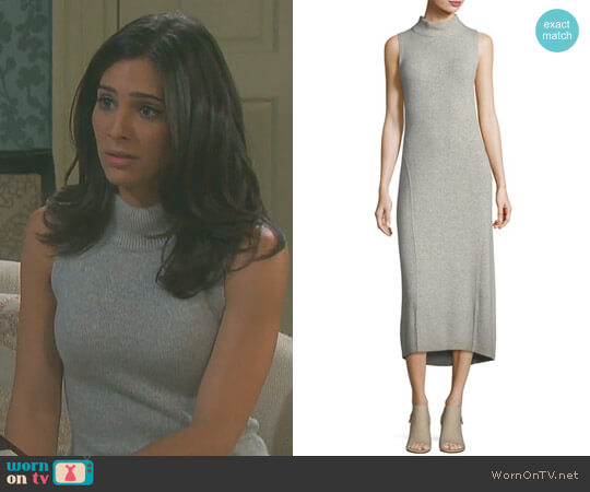'Ace' Cashmere Dress by Rag & Bone worn by Camila Banus on Days of our Lives