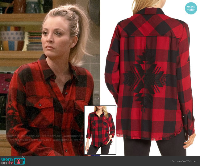 Rails Larsson Shirt worn by Penny Hofstadter (Kaley Cuoco) on The Big Bang Theory
