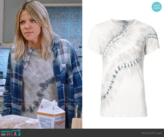 Raquel Allegra Tie Dye Tee worn by Kaitlin Olson on The Mick