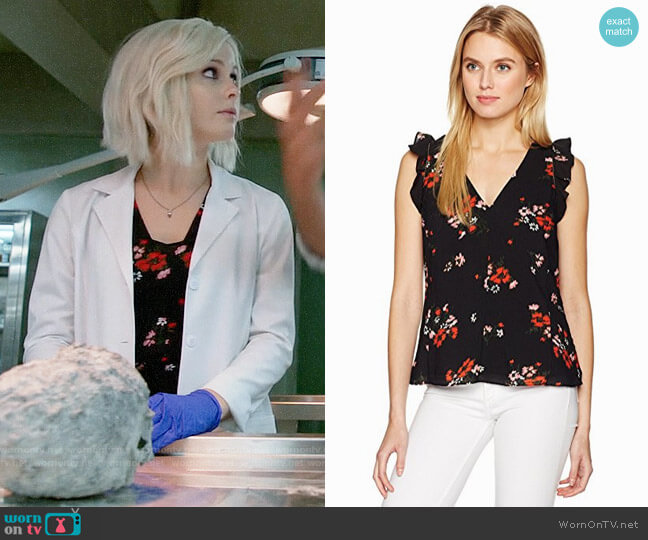 Rebecca Taylor Marguerite Top worn by Rose McIver on iZombie