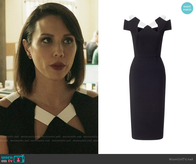 Roland Mouret Atkinson Dress worn by Deann Anderson (Lexa Doig) on The Arrangement