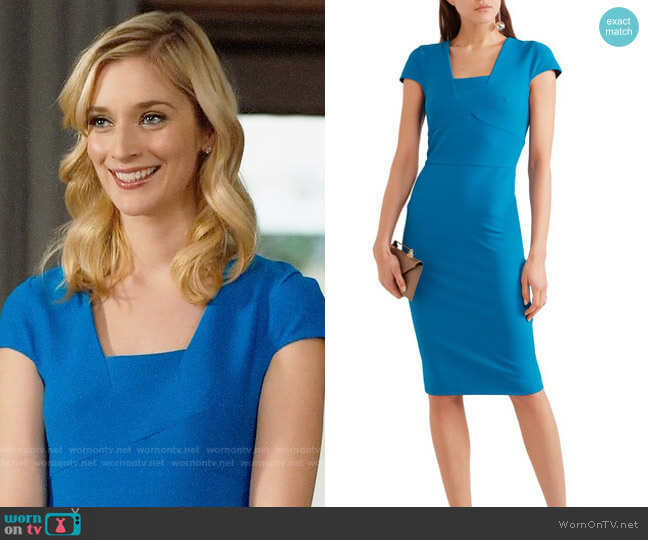 Roland Mouret Whistler Dress worn by Caitlin FitzGerald on UnReal