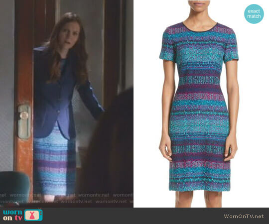 'Ellah' Dress by St John Collection worn by Darby Stanchfield on Scandal