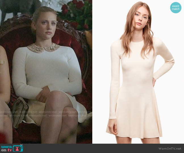 Sunday Best Rita Dress worn by Betty Cooper (Lili Reinhart) on Riverdale