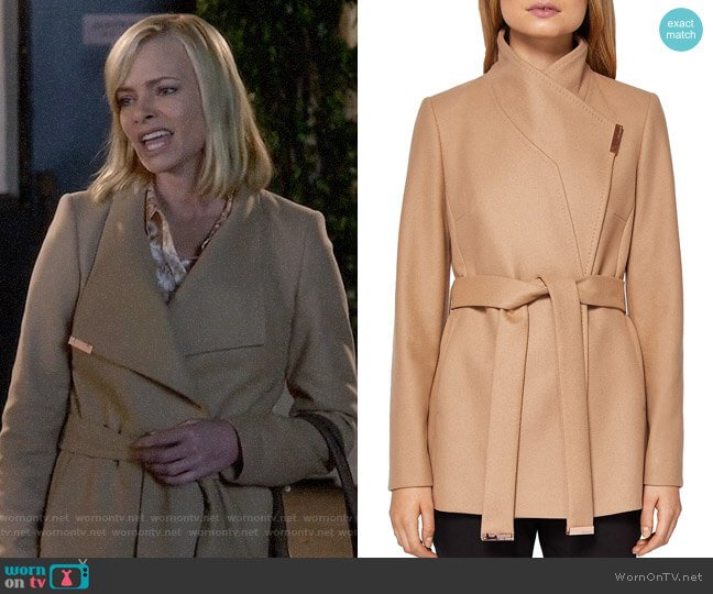 latest fashion official shop best sale WornOnTV: Jill's camel coat on Mom | Jaime Pressly | Clothes and ...