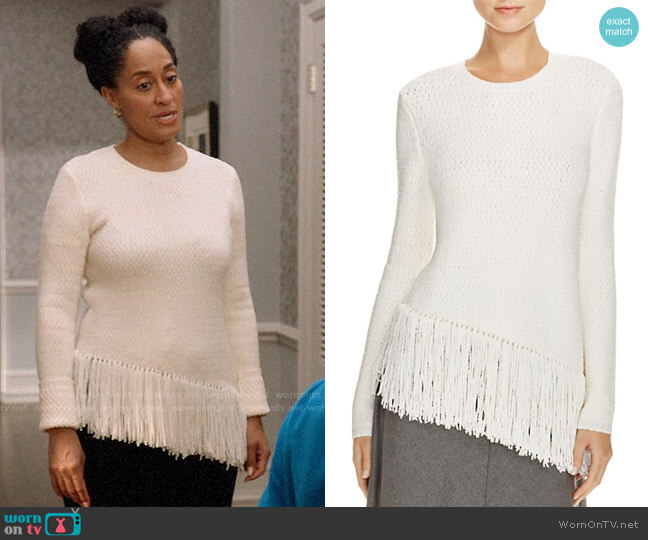 Theory Hudina Sweater worn by Rainbow Johnson (Tracee Ellis Ross) on Blackish