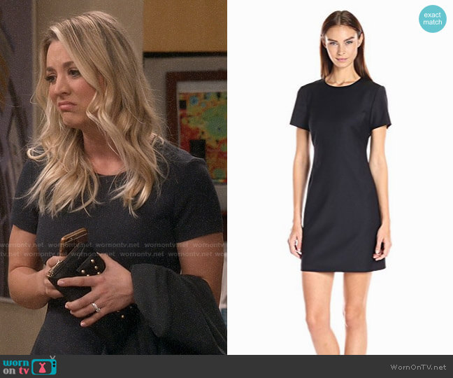 Theory Jatinn Dress worn by Kaley Cuoco on The Big Bang Theory