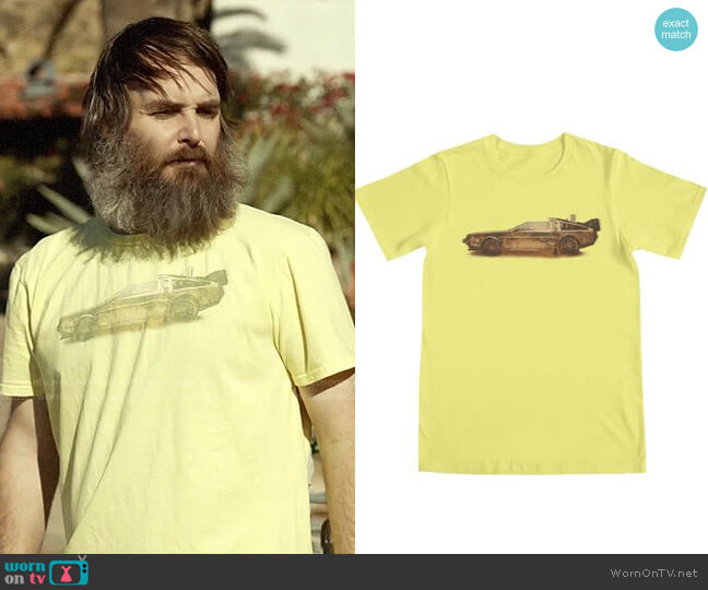 Threadless Lost in the Wild Wild West! T-shirt worn by Phil Miller (Will Forte) on Last Man On Earth
