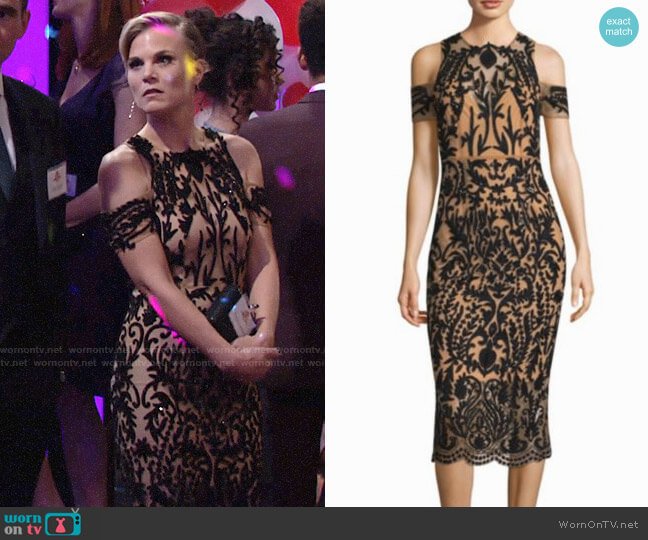 Thurley Jasmine Dress worn by Eileen Davidson on The Young & the Restless
