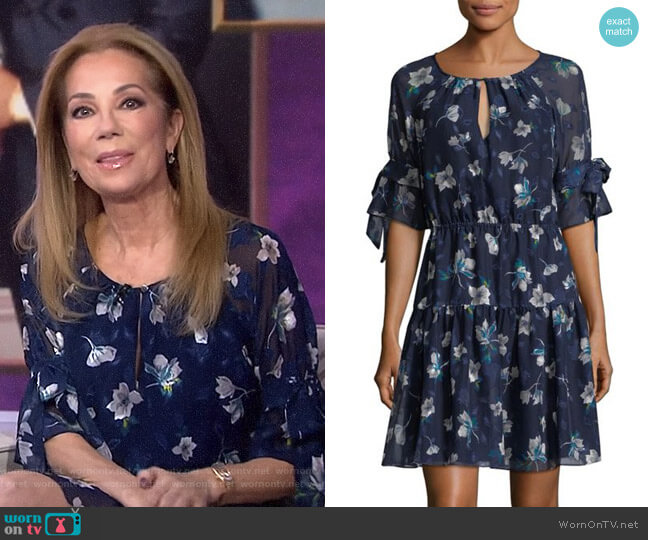 Floral Fit & Flare Dress by Vince Camuto worn by Kathie Lee Gifford  on Today