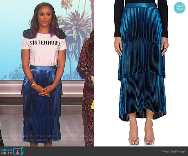 Harley Maxi Skirt by ALC worn by Eve on The Talk