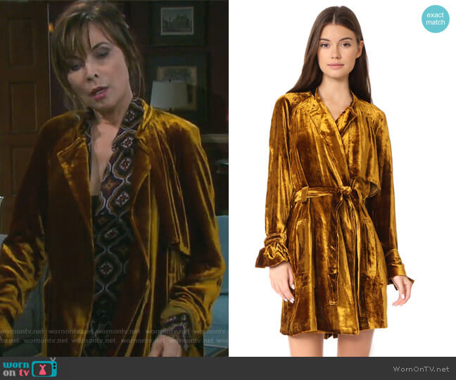 Kendall Dress by ALC worn by Lauren Koslow on Days of our Lives
