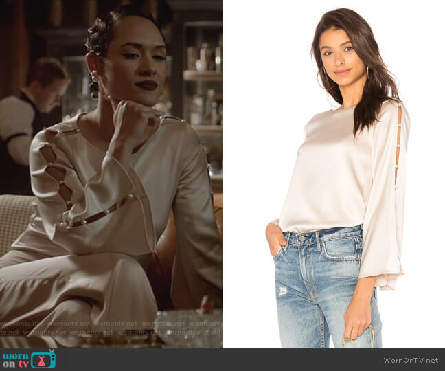 Genia Top by Alice + Olivia worn by Anika Calhoun (Grace Gealey) on Empire
