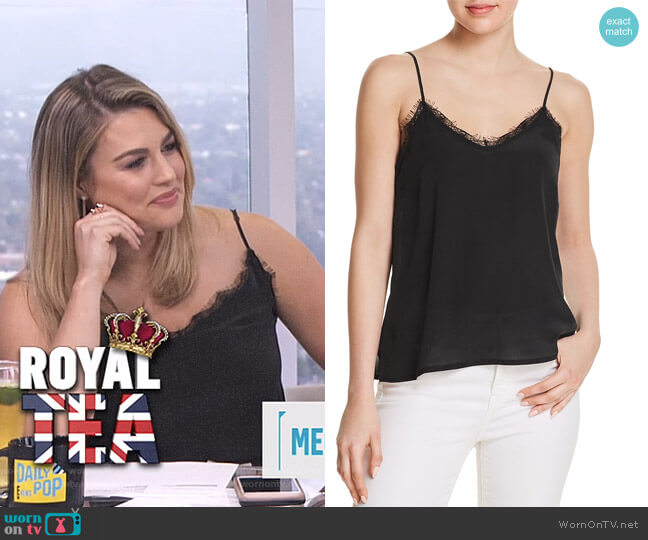 Silk Camisole Top by Anine Bing worn by Carissa Loethen Culiner (Carissa Loethen Culiner) on E! News
