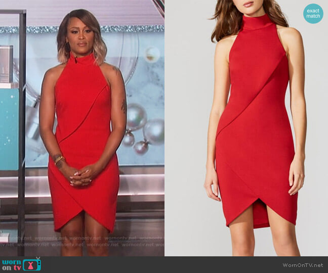Orei Dress by Bailey 44 worn by Eve  on The Talk