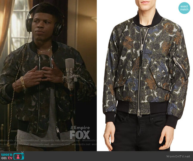 Archer Beast Bomber Jacket by Burberry worn by Bryshere Y. Gray on Empire