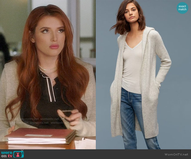 Community Ammonius Sweater worn by Bella Thorne on Famous in Love