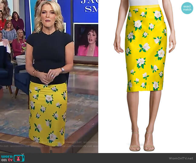 Magnolia Pencil Skirt by Draper James worn by Megyn Kelly (Megyn Kelly) on Today