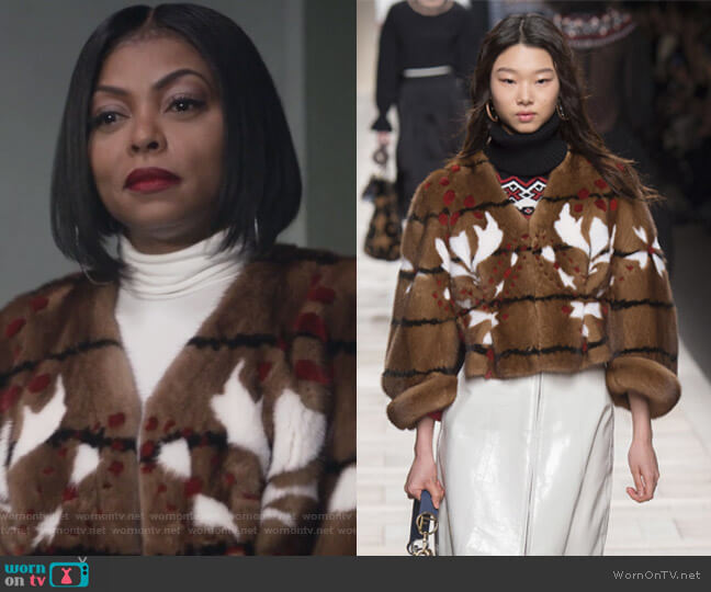 2017 Fall Collection by Fendi worn by Cookie Lyon (Taraji P. Henson) on Empire