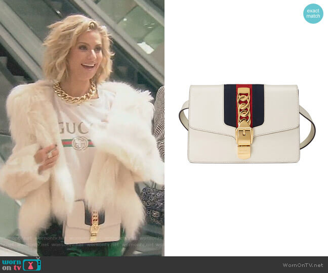 'Sylvie' Belt Bag by Gucci worn by Dorit Kemsley  on The Real Housewives of Beverly Hills