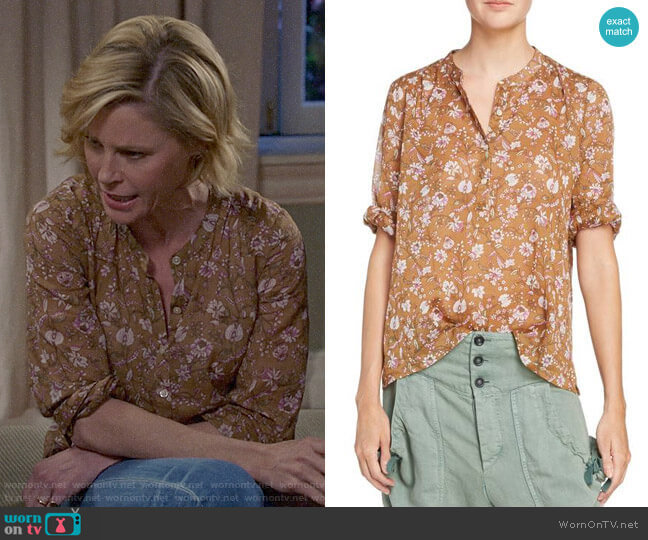 Isabel Marant Etoile Maria Top worn by Claire Dunphy (Julie Bowen) on Modern Family
