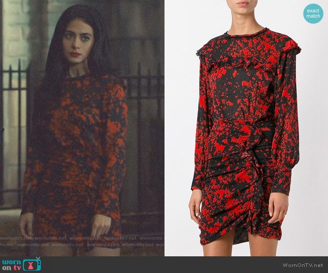 'Irvin' Dress Isabel Marant worn by Isabelle Lightwood (Emeraude Toubia ) on Shadowhunters