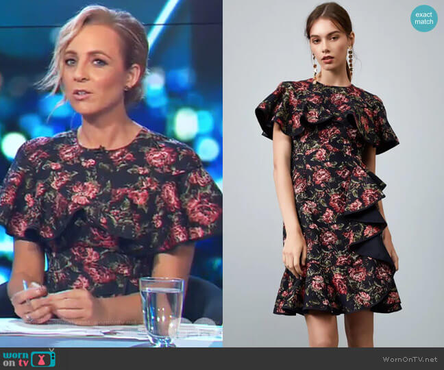 Dream Catcher Dress by Keepsake worn by Carrie Bickmore  on The Project