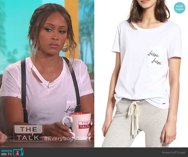 Hadlow Pocket Tee by n:Philanthropy worn by Eve on The Talk