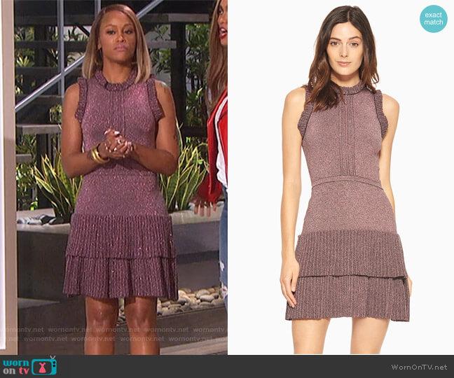 JoJo Knit Dress by Parker worn by Eve on The Talk
