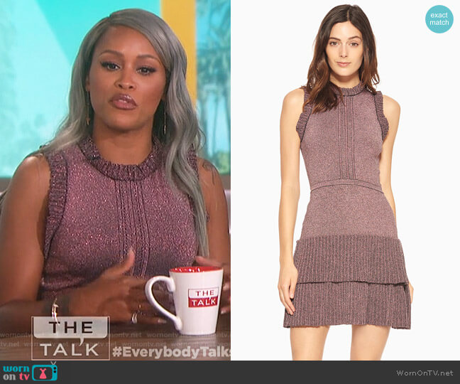 JoJo Knit Dress by Parker worn by Eve on The Talk