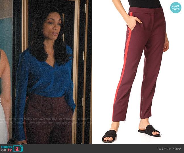 Rag & Bone Willoughby Pants worn by Jane Ramos (Rosario Dawson) on Jane the Virgin