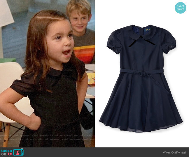 Ralph Lauren Fit & Flare Chiffon Dress worn by Ruth (Danielle Rockoff) on New Girl