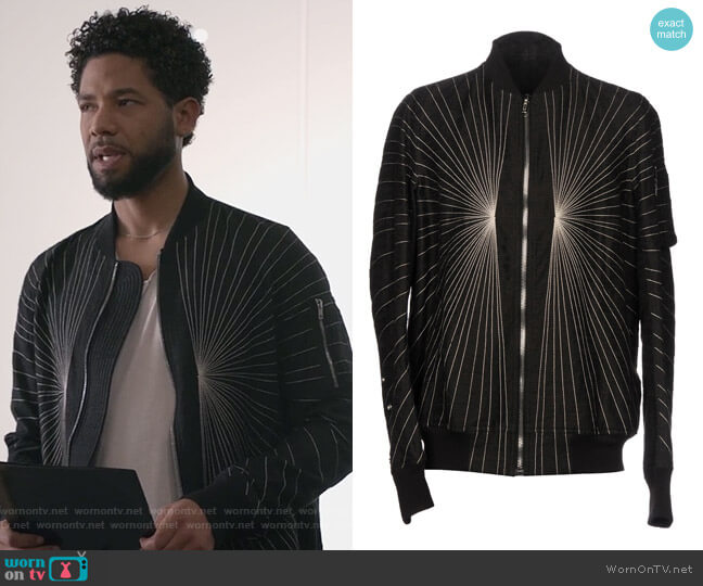Bomber by Rick Owens worn by Jussie Smollett on Empire