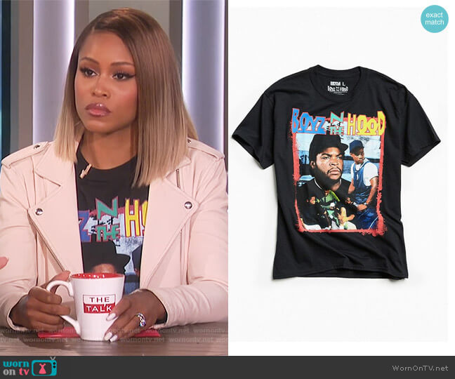 Boyz N The Hood Tee by Urban Outfitters worn by Eve  on The Talk